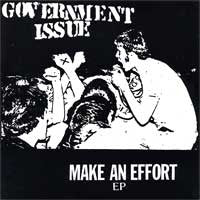 "GOVERNMENT ISSUE ""Make an Effort"" 7"""