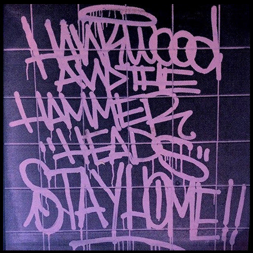 "HANK WOOD AND THE HAMMERHEADS ""Stay Home"" LP"