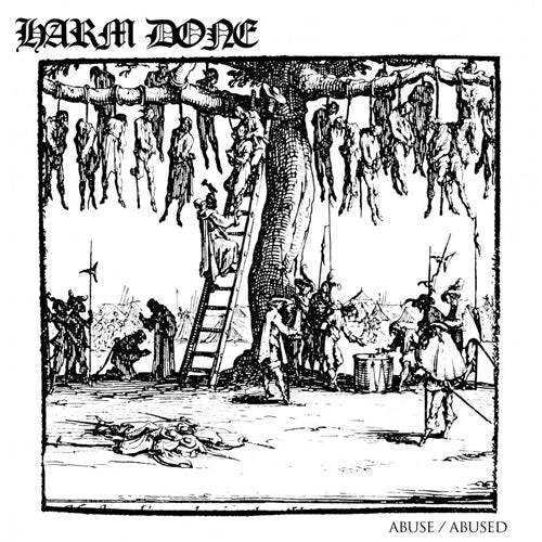 "HARM DONE ""Abuse / Abused"" LP"