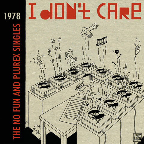 "V/A ""I Don't Care Vol. 2"" Compilation 2xLP"
