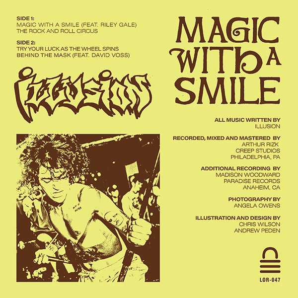 "ILLUSION ""Magic with a Smile"" 7"""