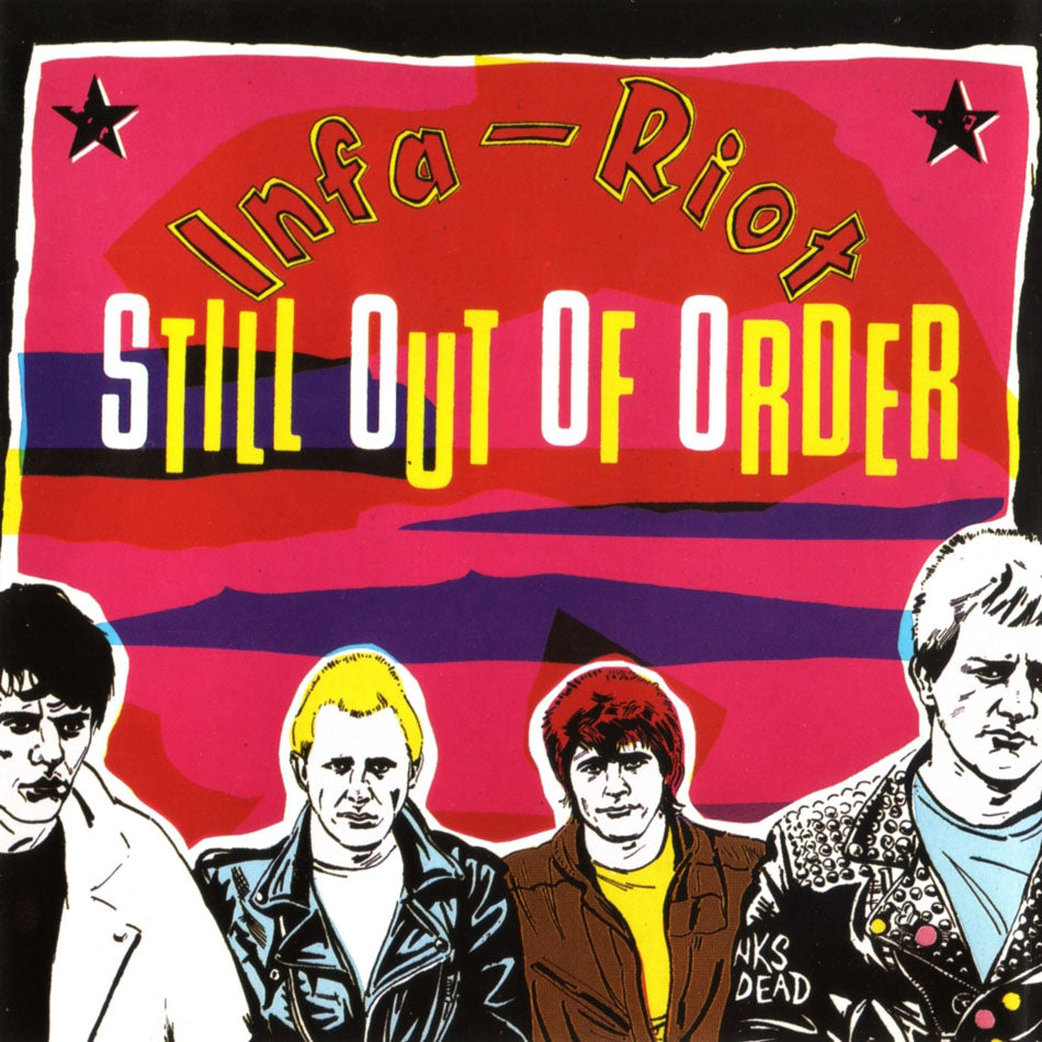 "INFA RIOT ""Still Out Of Order"" LP"