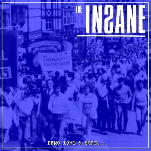 "INSANE, THE ""Demo 1981 and More"" LP"