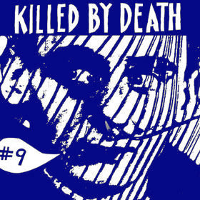 "V/A ""KILLED BY DEATH Vol. 9"" Compilation LP"