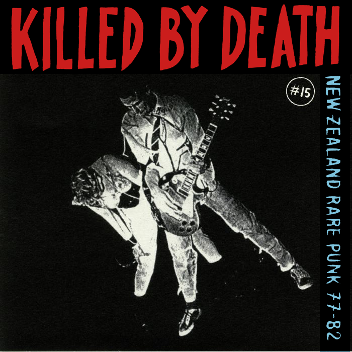 "V/A ""Killed By Death 15: New Zeland Punk"" Compilation LP"