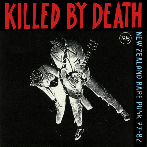 "V/A ""Killed By Death 15: New Zealand Punk"" Compilation LP"