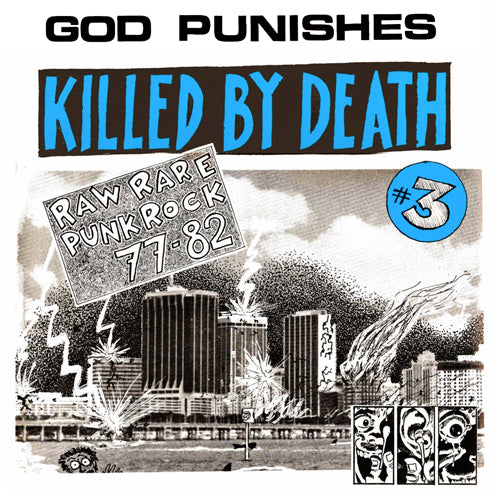 "V/A ""KILLED BY DEATH Vol. 3"" Compilation LP"