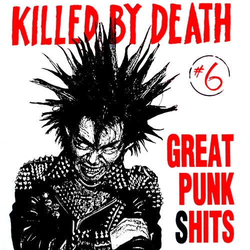 "V/A ""Killed By Death Vol. 6"" Compilation LP"