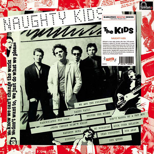 "KIDS, THE ""Naughty Kids (Deluxe Edition)"" LP"