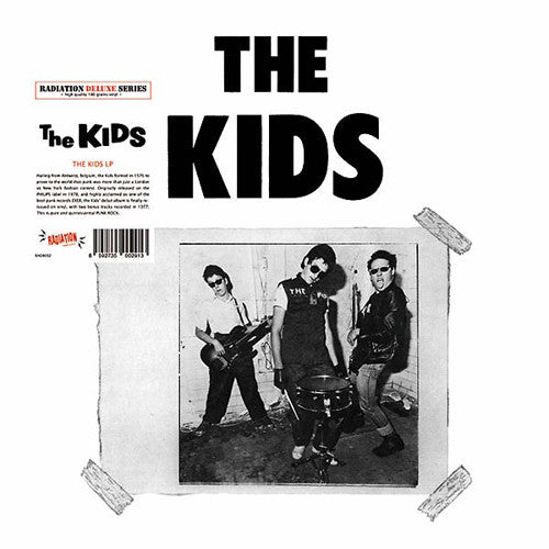 "KIDS, THE ""S/T (Deluxe Edition)"" LP"