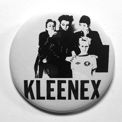 "Kleenex ""Band"" (1"", 1.25"", or 2.25"") Pin"