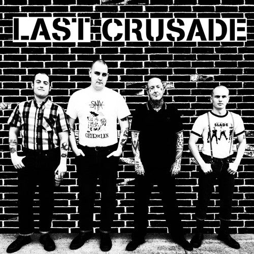 "LAST CRUSADE ""S/T (Demo)"" 7"""