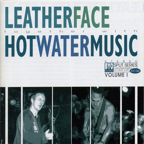 LEATHERFACE / HOT WATER MUSIC Split LP