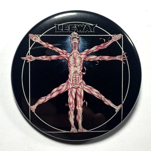 "Leeway ""Born to Expire"" (1"", 1.25"", or 2.25"") Pin"