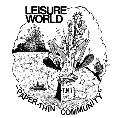 "LEISURE WORLD ""Paper Thin Community"" 7"""
