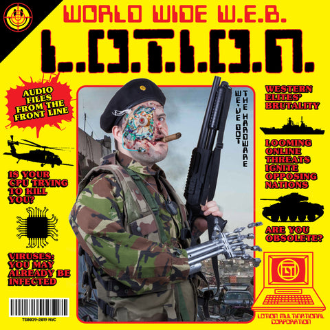 "L.O.T.I.O.N. ""World Wide W.E.B."" LP"