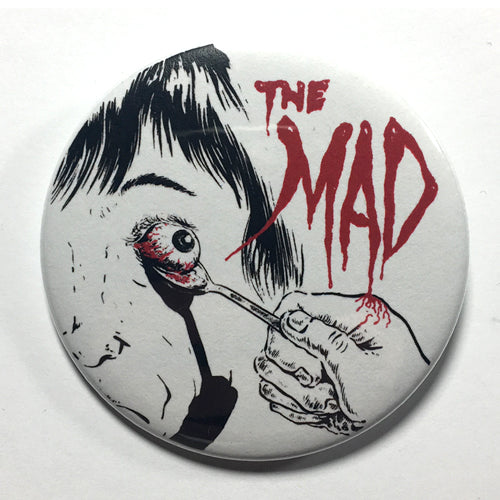 "Mad, The ""Eyeball"" (1"", 1.25"", or 2.25"") Pin"