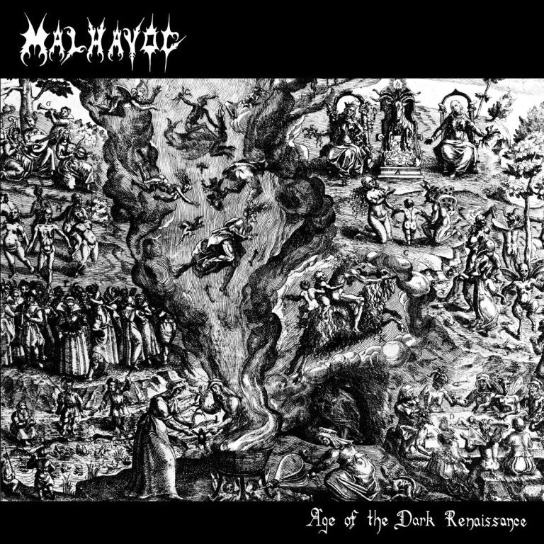 "MALHAVOC ""Age of the Dark Renaissance"" LP"