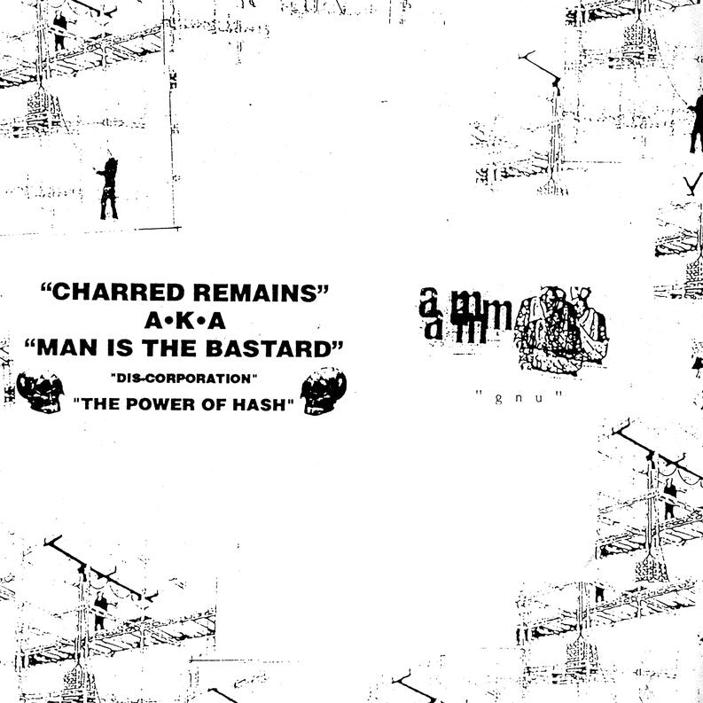 "MAN IS THE BASTARD / AUNT MARY ""Discorporation - Power of Hash"" 10"""