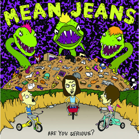"MEAN JEANS ""Are You Serious?"" LP"