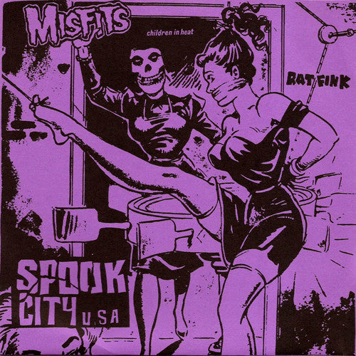 "MISFITS ""Spook City U.S.A"" 7"""