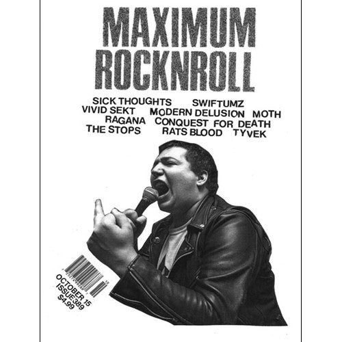 MAXIMUMROCKNROLL #389 - October 2015