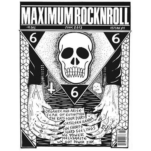 MAXIMUMROCKNROLL #361 - JUNE 2013