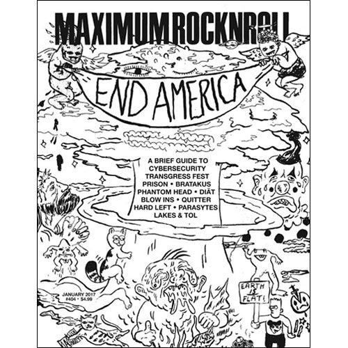 MAXIMUMROCKNROLL #404 - January 2017