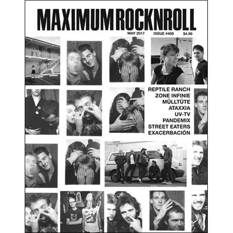 MAXIMUM ROCKNROLL #408 - May 2017