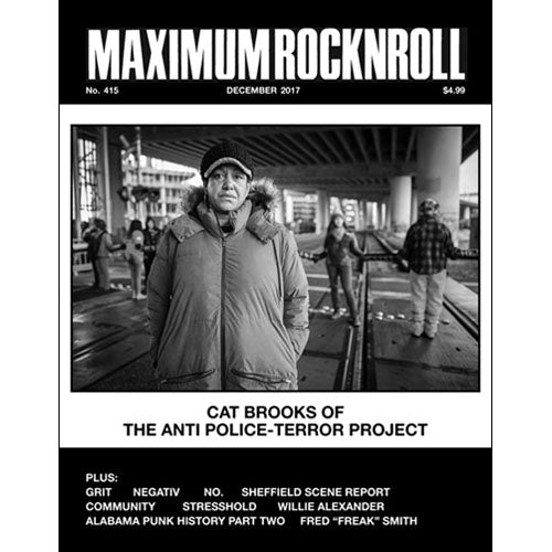 MAXIMUMROCKNROLL #415 - Dec 2017