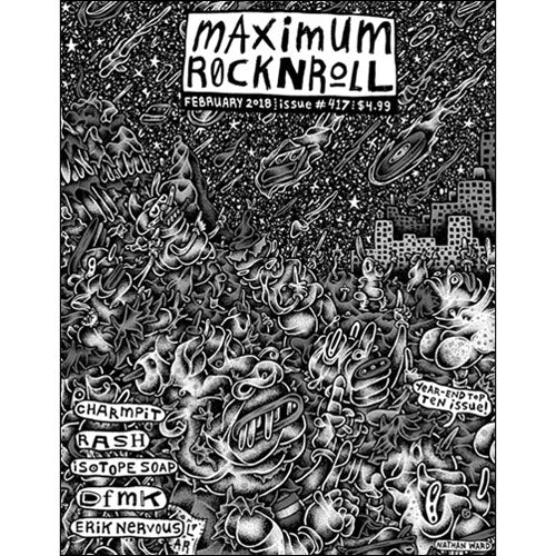 MAXIMUMROCKNROLL #417 - Feb 2018