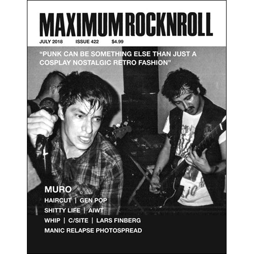 MAXIMUMROCKNROLL #422 - July 2018