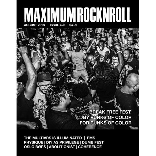 MAXIMUMROCKNROLL #423 - July 2018