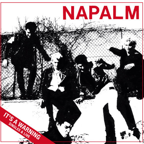 "NAPALM ""It's a Warning: Singles & Live"" LP"