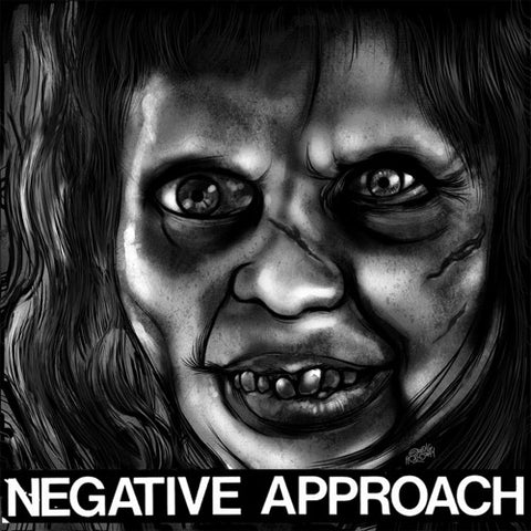 "NEGATIVE APPROACH ""10 Song EP"" 7"""