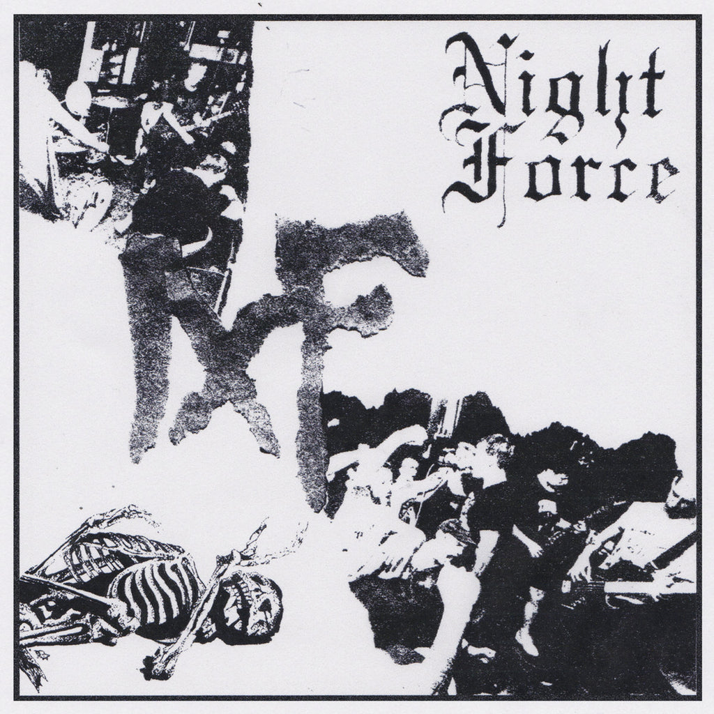 "NIGHT FORCE ""S/T"" 7"""