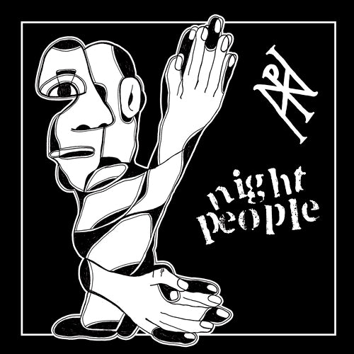 "NIGHT PEOPLE ""S/T"" 7"""