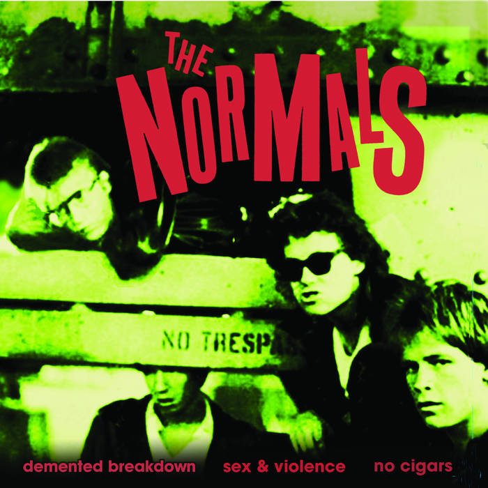 "NORMALS, THE ""Demented Breakdown"" 7"""