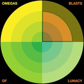 "OMEGAS ""Blasts of Lunacy (US Version)"" LP"