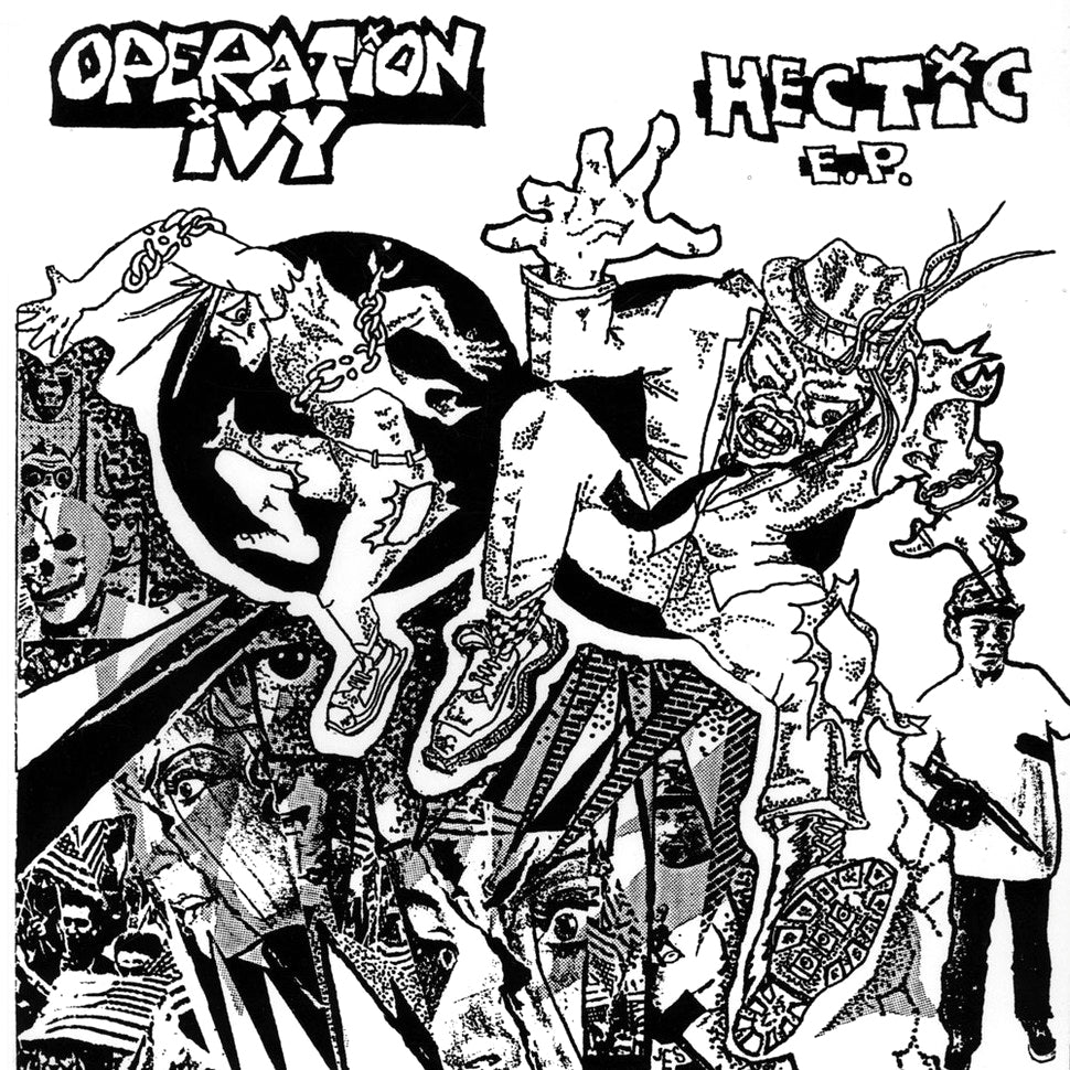 "OPERATION IVY ""Hectic"" 12"""