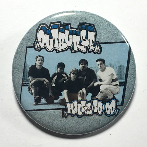 "Outburst ""Miles to Go"" (1"", 1.25"", or 2.25"") Pin"