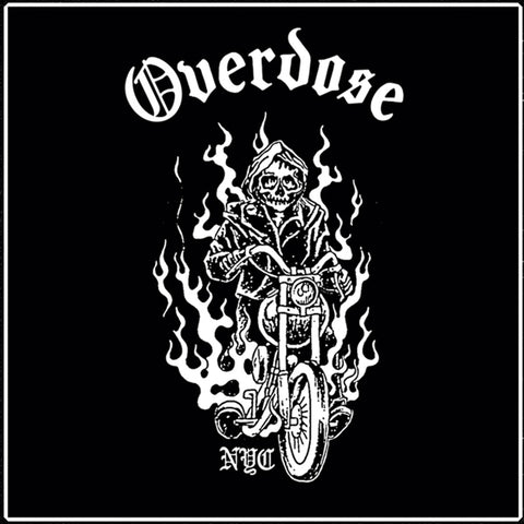 "OVERDOSE ""Hit the Road"" 7"""