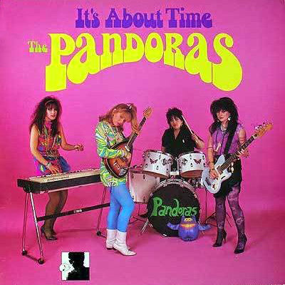 "PANDORAS, THE ""It's About Time"" LP"