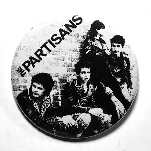"The Partisans ""Police Story"" (1"", 1.25"", or 2.25"") Pin"