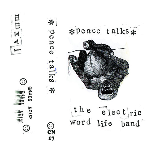 PEACE TALKS THE ELECTRIC WORD LIFE BAND Demo Tape