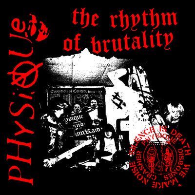 "PHYSIQUE ""The Rhythm Of Brutality"" 10"" (US Pressing)"