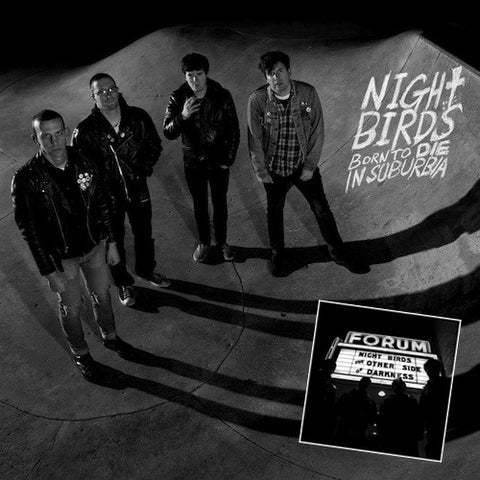 "NIGHT BIRDS ""Born to Die"" and ""The Other Side of Darkness"" LP or CD Combo"