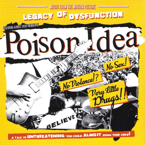 "POISON IDEA ""Legacy Of Disfunction: Music From The Motion Picture"" LP"