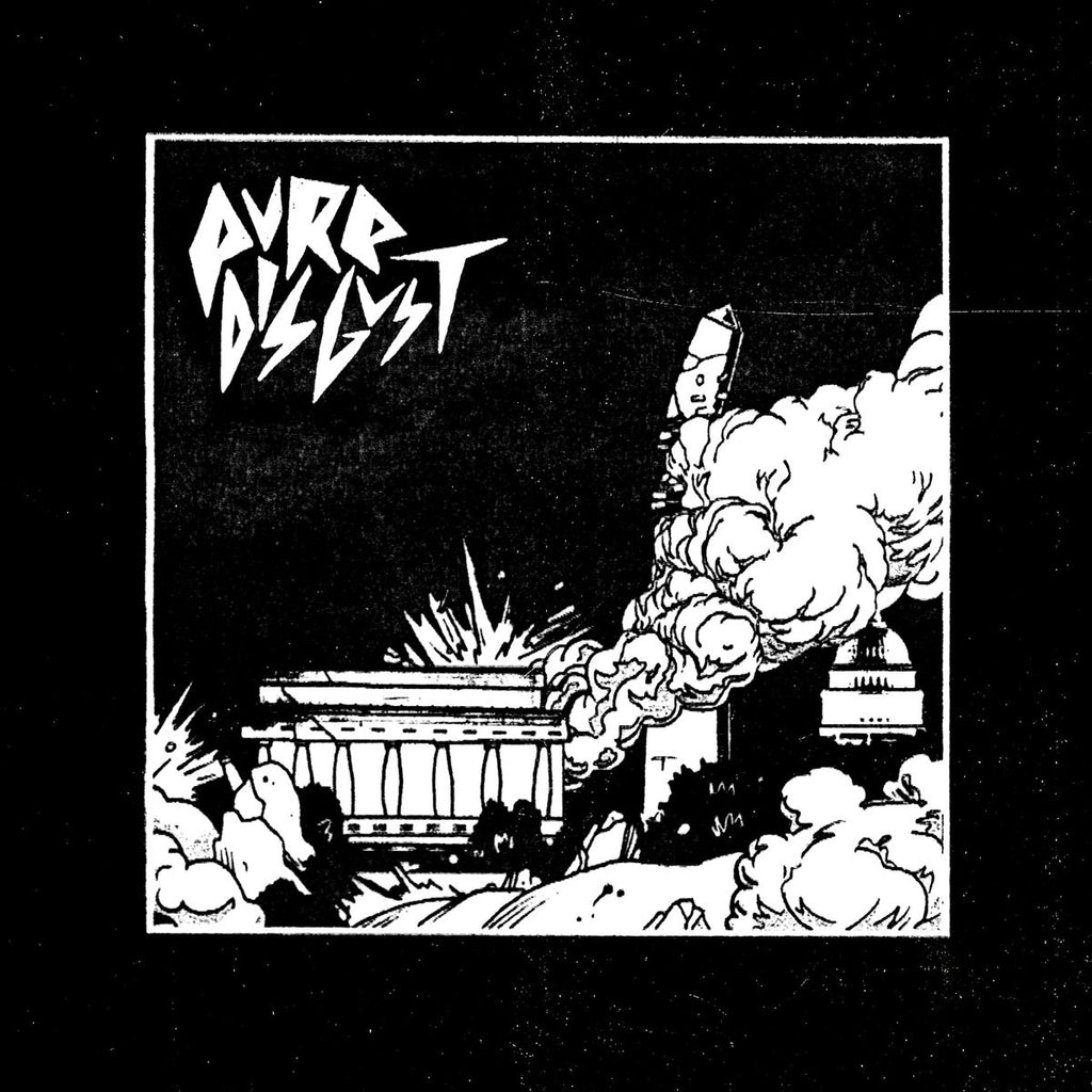 "PURE DISGUST ""S/T"" LP"