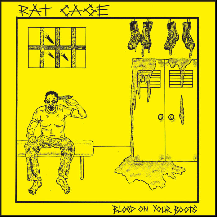 "RAT CAGE ""Blood on Your Boots"" 7"""